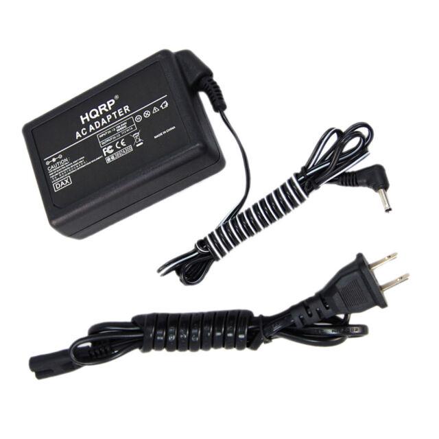 Hqrp AC Adapter für JVC GR-SXM245 GR-SXM245U GR-SXM245US GR-SXM250 GR-SXM250U