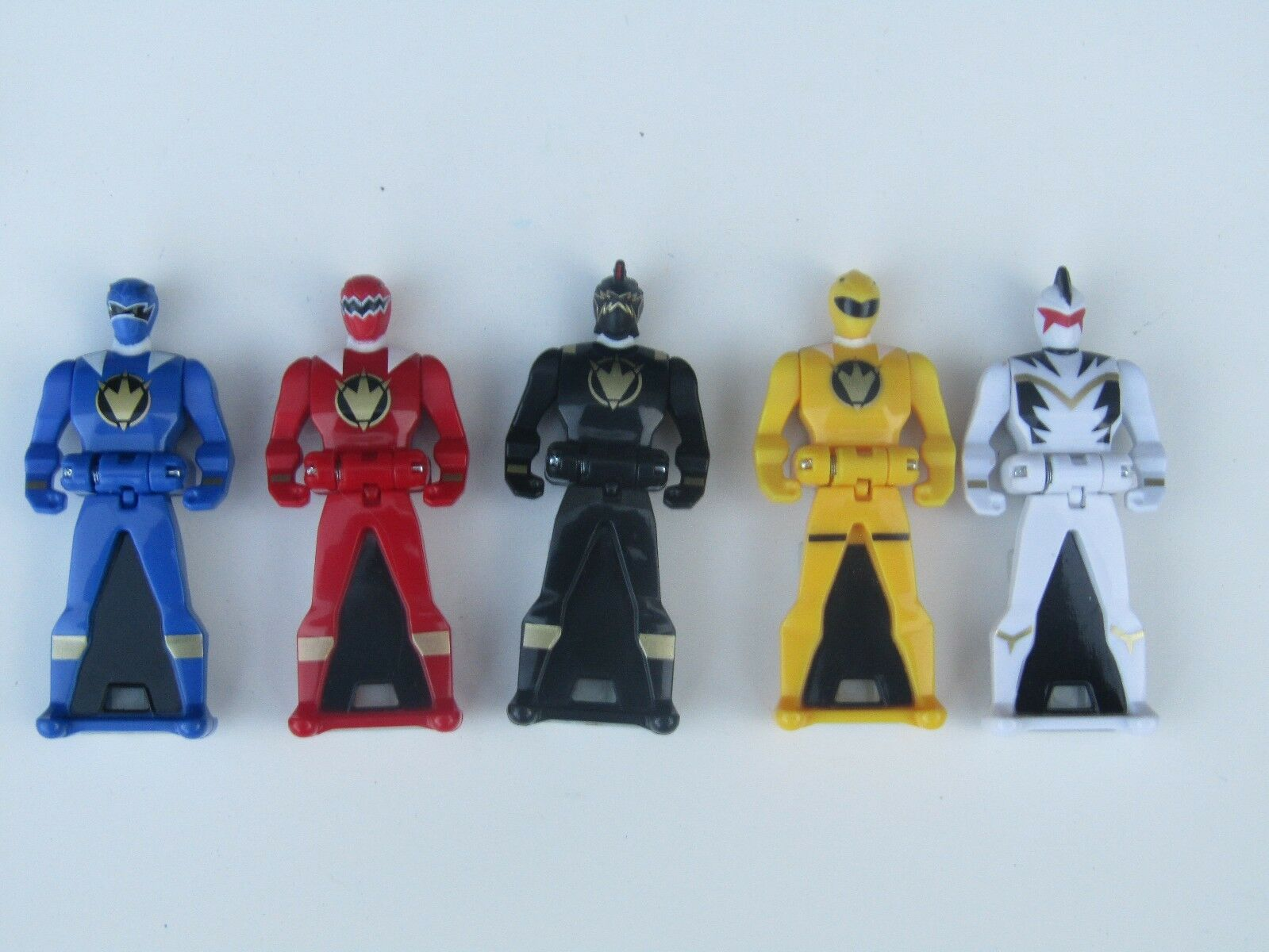 LOOSE  Power Rangers Key Dino Thunder Lot 5