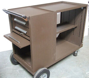 Kennedy Brown Versa Cart Platform Roller Tool Box Cabinet
