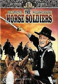 1 of 1 - The Horse Soldiers (DVD, 2004) John Wayne, William Holden -- Free Postage --