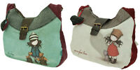 Santoro Gorjuss Slouchy Bag Purrrrrfect Love The Foxes Cute Uni School