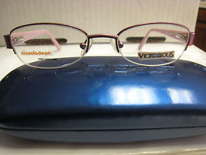 a666c463268 Image is loading VICTORIOUS-EYEGLASS-FRAME-SCOOP-Style-PURPLE-47-18-