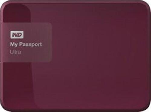 WD My Passport Ultra 2TB External USB 3.0//2.0 Portable Hard Drive In Wild Berry
