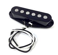 Black Alnico 5 Big Pole Neck Pickup for Fender Stratocaster/Strat® PU-SBA-NB