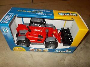 Bruder Toys Manitou Telescopic MLT 633 Loader / 02125