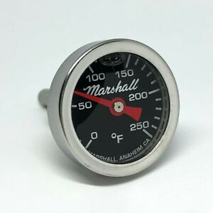I-14-LB-Direct-Mount-Engine-Thermometer-0-250F-Black-Dial-Liquid-Filled