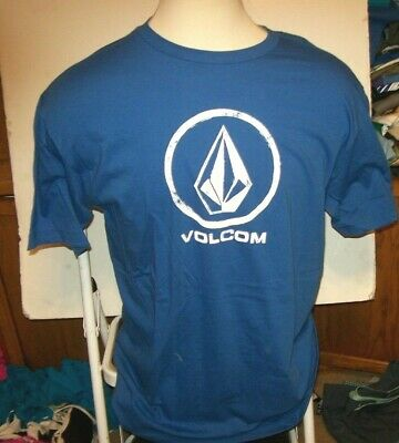 NEW Volcom Stone royal blue thermal long sleeve shirt  small medium or XL