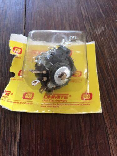 Ohmite reóstato 711-4 7amp 125 voltios