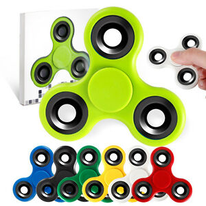 20PCS Lot Wholesale Hand Spinner Tri Fidget Gift Toy EDC ADHD Stocking Stuffer