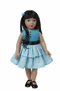 Starpath-Asian-Girl-18-039-Vinyl-Doll-Toy-Fun-For-Hours-Fits-American-Doll-Clothes