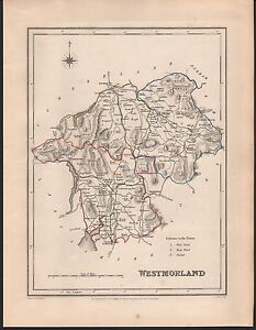 1848 ANTIQUE COUNTY MAP WESTMORLAND AMBLESIDE BROUGH KENDALL BURTON ORTON - <span itemprop=availableAtOrFrom>Holmfirth, United Kingdom</span> - Returns accepted Most purchases from business sellers are protected by the Consumer Contract Regulations 2013 which give you the right to cancel the purchase within 14 days after the da - Holmfirth, United Kingdom