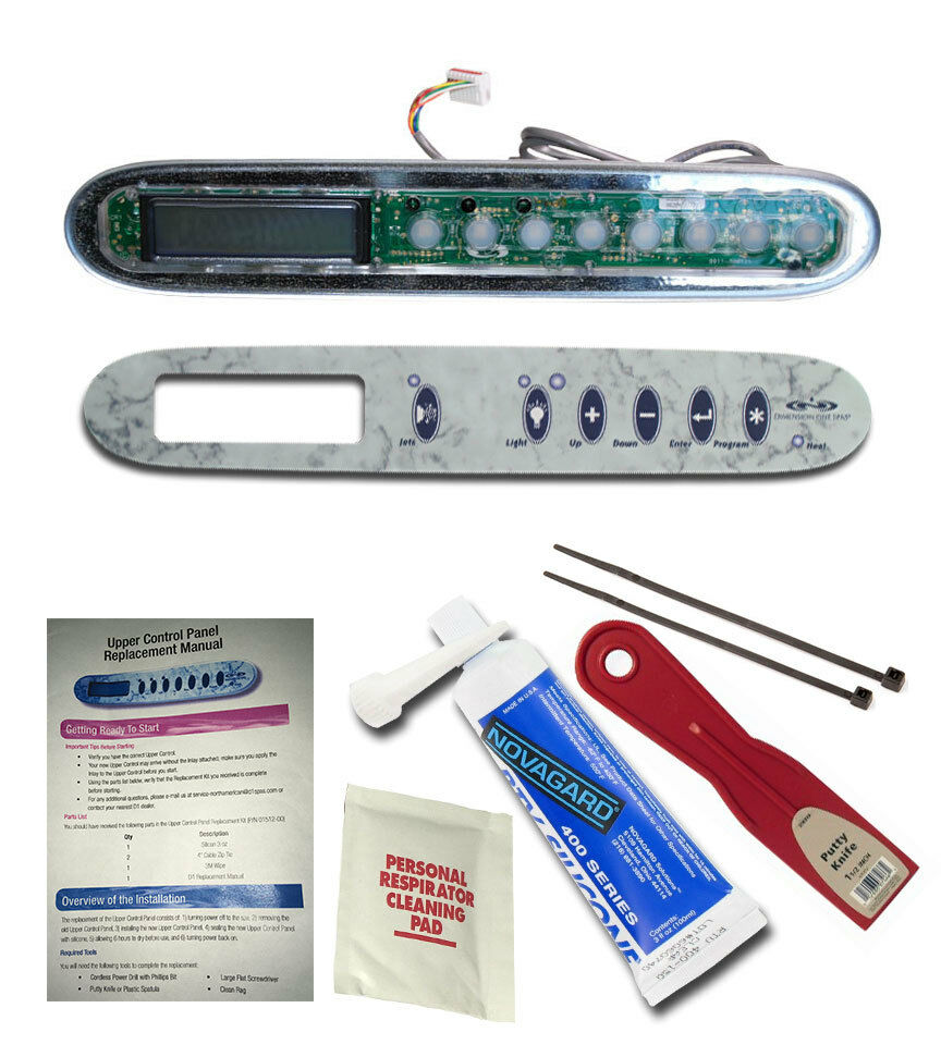 Dimension One - Topside Controller 01560-310, Overlay 01560-351, & Install Kit