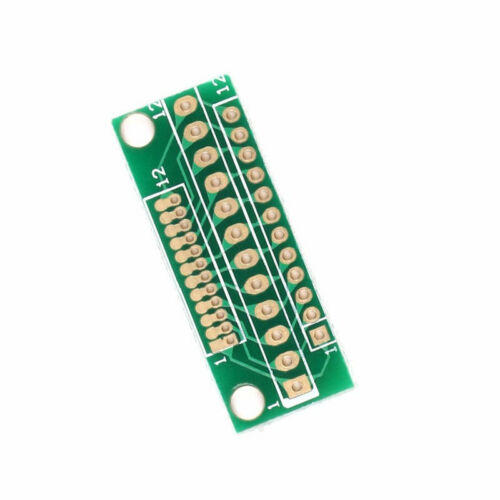 10 pcs 1.27MM 2.0MM 2.54MM 12 Pin Adapter Board For Wireless Modules