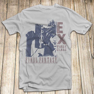 Final Fantasy 7 Cloud Sephiroth T Shirt 100/% Cotton Size S-5XL Made In USA Game