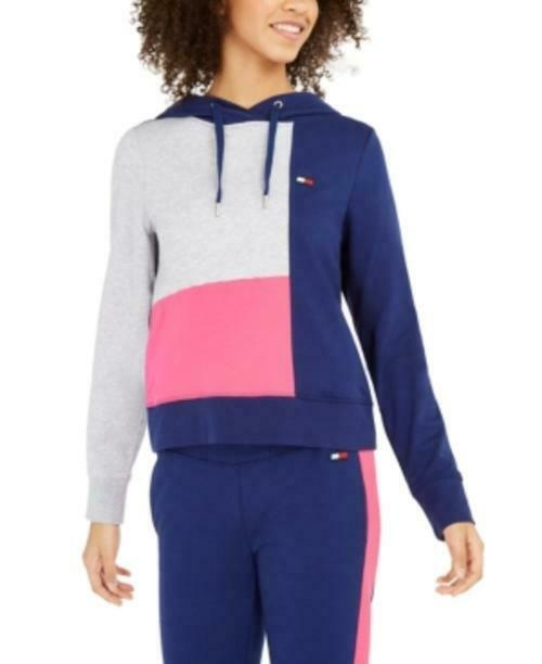 MSRP Tommy Hilfiger Sport Colorblocked Hoodie Size XL