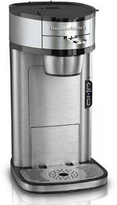 Coffee Maker For Single Person : Hamilton Beach 49981A Single Serve Scoop Coffee Maker eBay