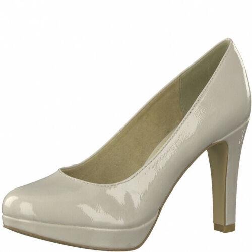 Details about  /S.Oliver Court Shoes Soft Foam 5-22410-22 Light Grey Patent