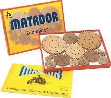 Matador 11310 - Holz-Zahnräder, Ergänzungskasten