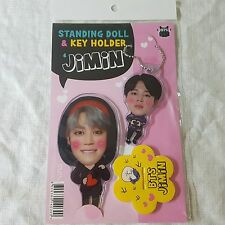 BTS Jimin Bangtan Boys K-POP Standing Doll Key Holder KPOP Star Gift New
