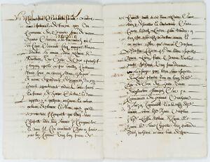 Handgeschriebenes-Schriftstueck-vom-4-Mai-1660-1660-Tusche-a-Papier