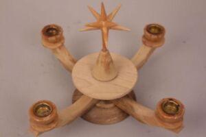 Kerzenstaender-Adventskranz-Weihnachtsstern-4-armig-Advent-Handarbeit-Dekoration