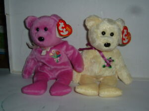 TY Beanie Babies MOTHER 2004 2002 mwmt Mother's Day
