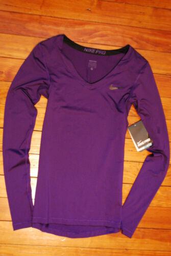 running Dri Nike maglia Pro fit Nuova da donna Purple piccola da qTRIE
