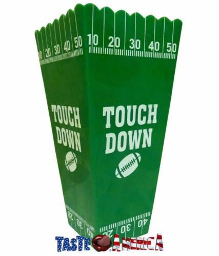 Touch Down plastique Popcorn Tub idéal pour redenbachers Popcorn /& Noyau Assaisonnement