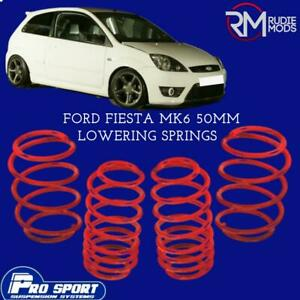 FORD MONDEO Mk3 2.5 V6 2000-07 LOWERING SPRINGS 60mm **FRONTS**