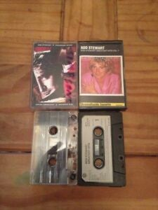 Music-Cassette-Tapes-Bundle-Rod-Stewart