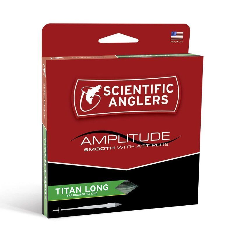 Scientific Anglers Amplitude Smooth Titan Long Fly Line - WF9F - New