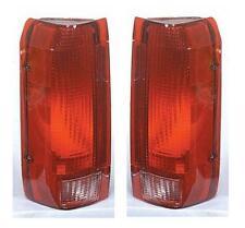 NEW Taillight Pair Set Fits 90 91 92 93 94 95 96 Ford F150 F250 F350 Bronco
