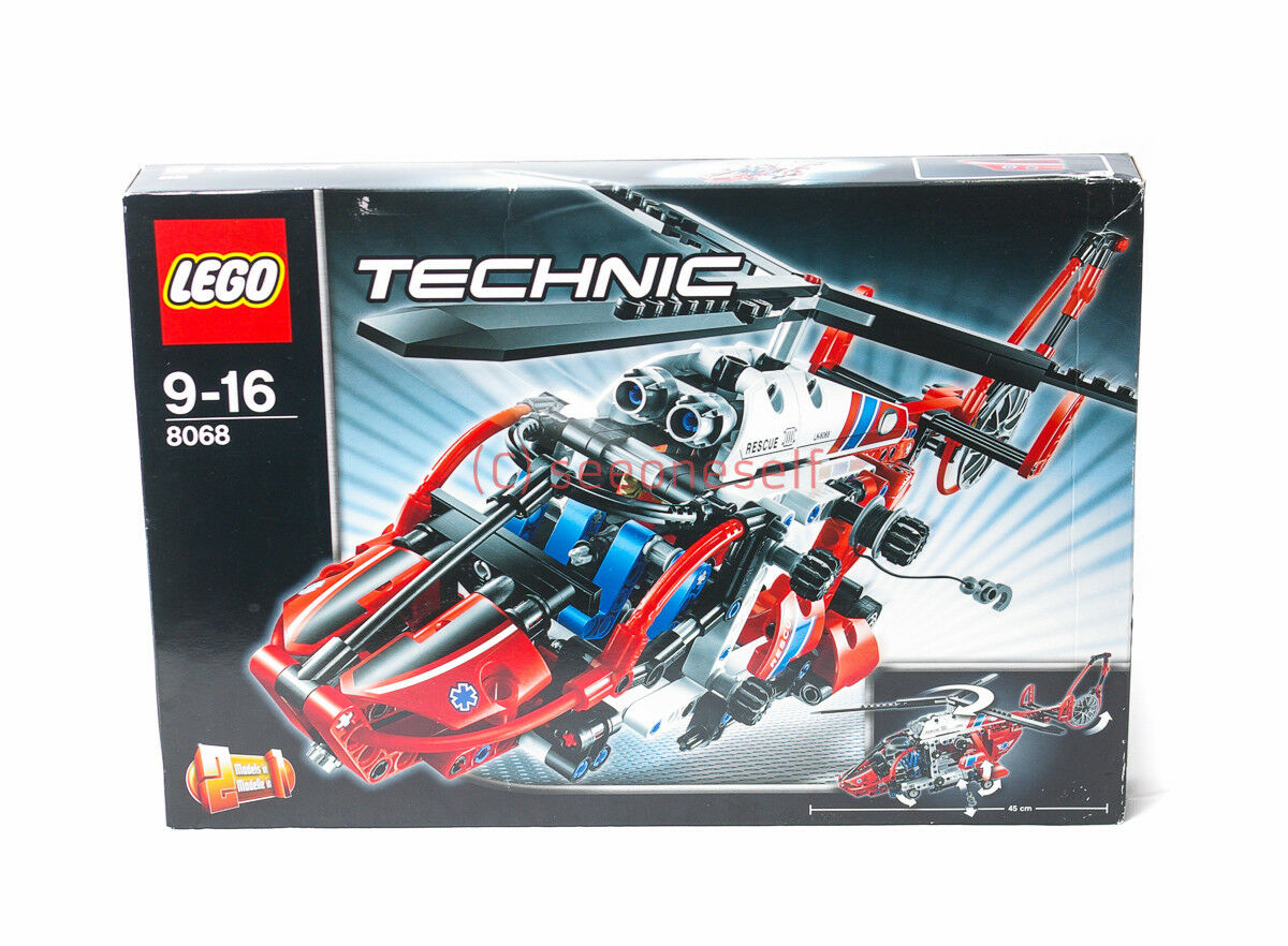 LEGO TECHNIC 8068 2 IN 1 RESCUE   MEDICAL HELICOPTER BRAND NEW