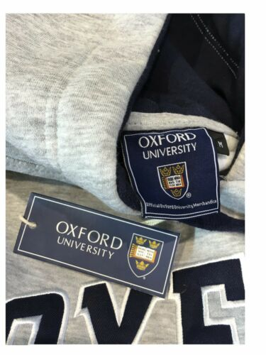 Official Oxford University Hoody Heather Grey