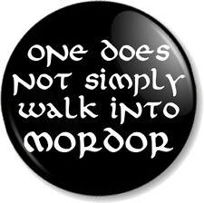 "COOL STORY BILBO  25mm 1/"" Pin Button Badge Lord of the Rings Hobbit Baggins Fun"
