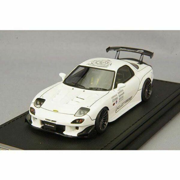 Ignition Model 1//64 Mazda RX-7 FD3S RE Amemiya White
