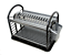 2-Tier-Round-Plastic-Bowl-Plate-Dish-Drainer-Drying-Rack-with-Cutlery-Holder thumbnail 7