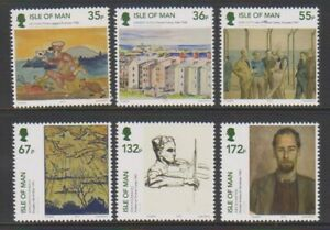 Isle-of-Man-2010-Internment-Art-History-1st-series-set-MNH-SG-1618-23
