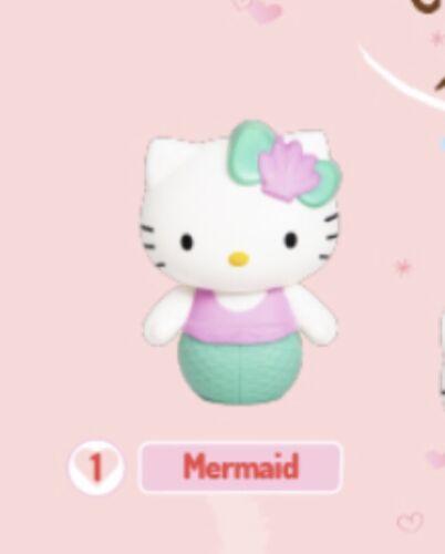 Hello Kitty Sirena Mermaid Toy #7 2019 McDonald/'s Happy Meal Figure SEALED