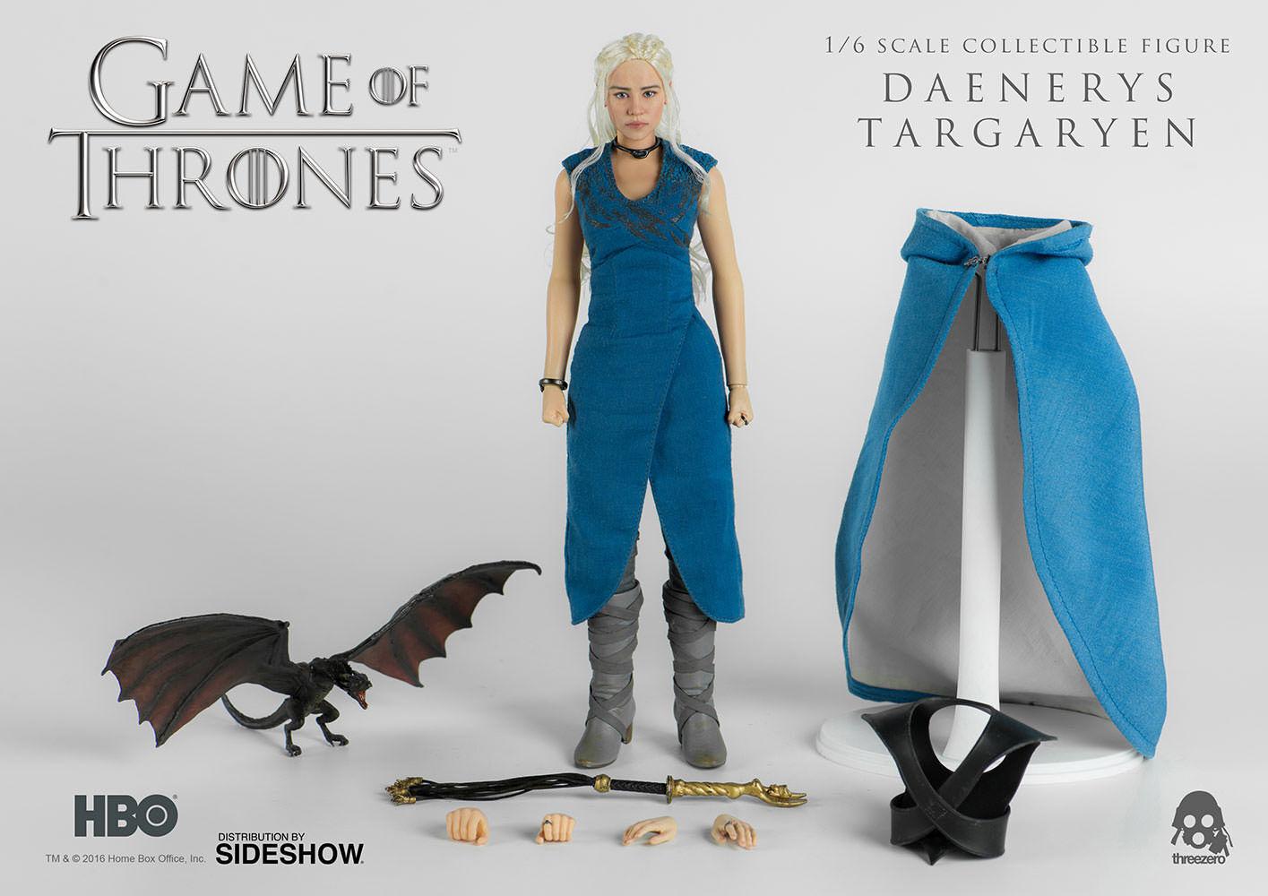 Game of Thrones Daenerys Targaryen Sixth Scale Action Figure Threezero Sideshow