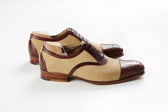 New Handmade Men American Luxury Suede & Leather shoes, Männerschuhe