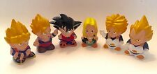 RARE Dragonball Z PVC Chibi Figures: Goku,Super Vegeta,Gohan,Trunks,Android 18