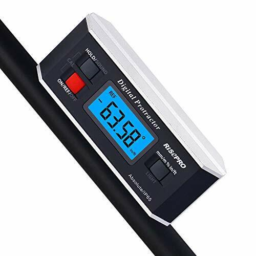 Inclinometer  Digital Protractor Angle Finder Level Inclinometer Magnetic V-Groo