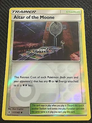 SM Guardians Rising Uncommon Playset 4x Altar of the Moone 117//145 NM//M