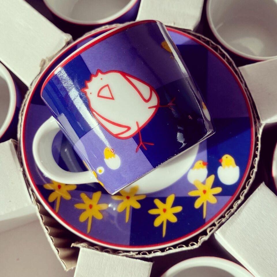 Porcelæn, Italienske espressokopper, Andrea Fontebasso