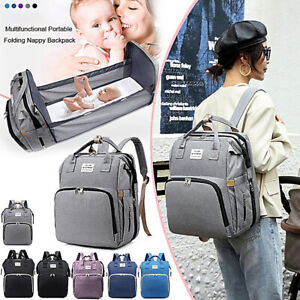 Multifunctional GENUINE LAND Large Baby Diaper Backpack Mummy Nappy Changing NEW