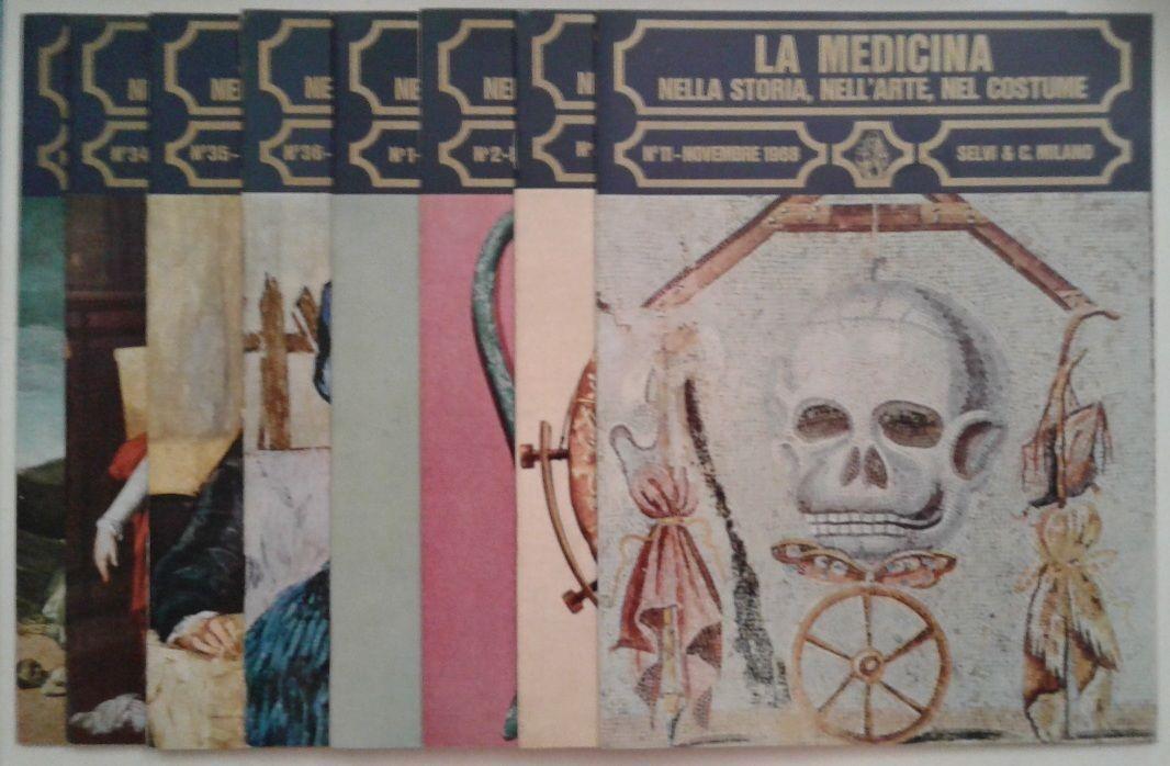 La medicina nella storia, nell'arte nel costume (fascicoli dall'1 al 12) 1968