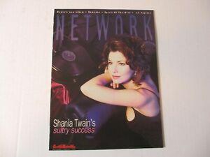 SHANIA-TWAIN-on-the-cover-of-NETWORK-magazine-September-1995-rare