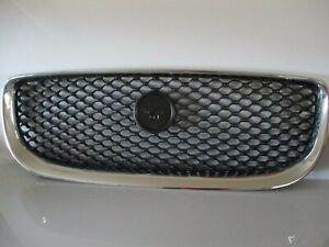 GENUINE-JAGUAR-XE-2015-2019-FRONT-GRILL-BLACK-CHROM