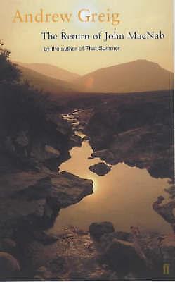 """AS NEW"" Greig, Andrew, The Return of John Macnab, Paperback Book"